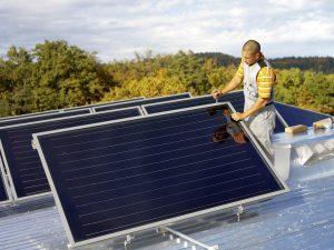 Solarthermie Montage Copyright Austria Solar - Sonnenkraft