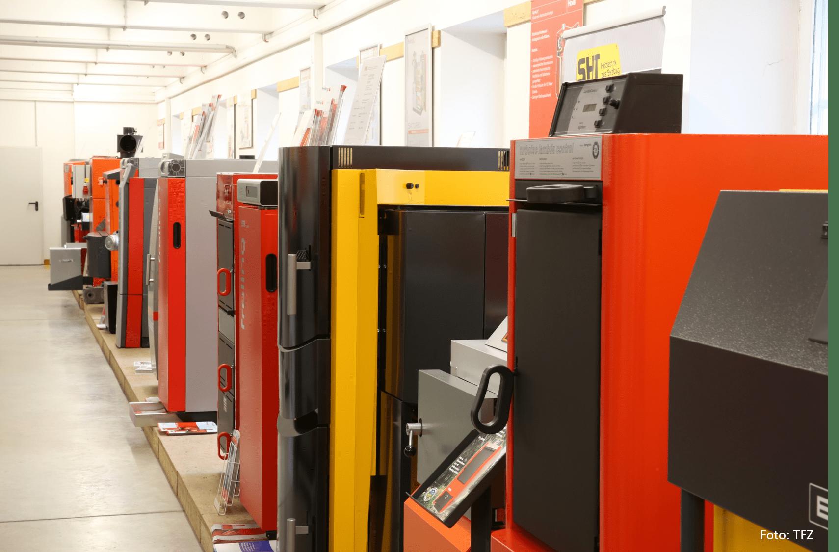 Boiler Exhibition Copyright Technik- und Förderzentrum TFZ